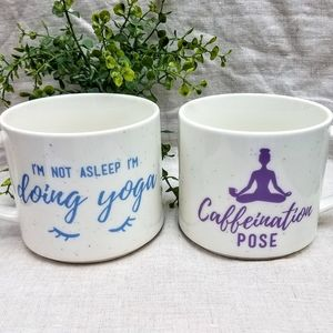 PAIR Coffee Mugs Oversized, Yoga
